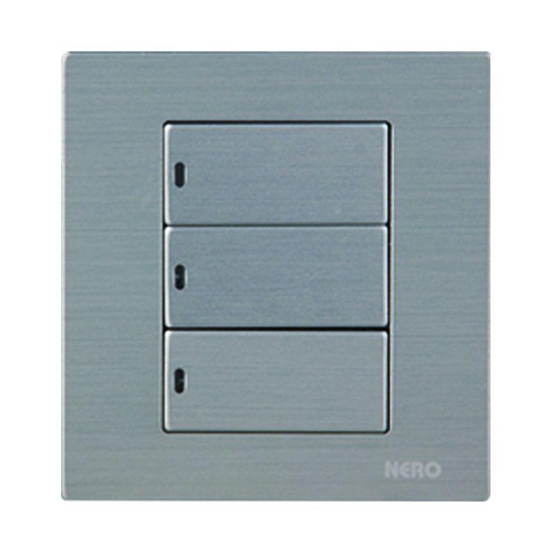 Nero Titanium V10-S V101632D-S Silver Saklar
