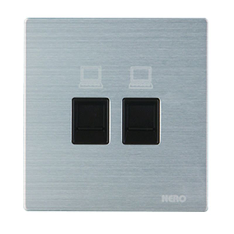 Nero Titanium V10-S V10PC2-S Silver Data Outlet