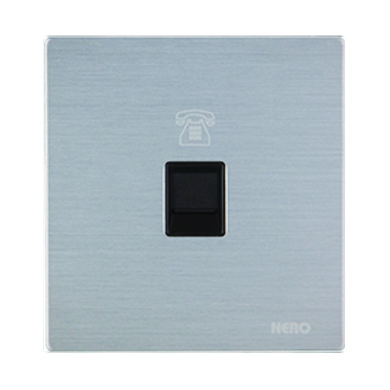 Nero Titanium V10-S V10PH-S Silver Telephone Outlet