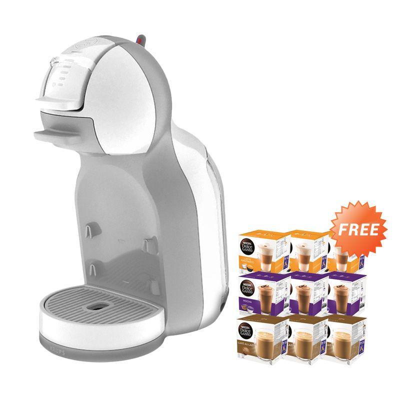Nescafe Dolce Gusto Mini Me White Mesin Kopi + 9 Box Capsule