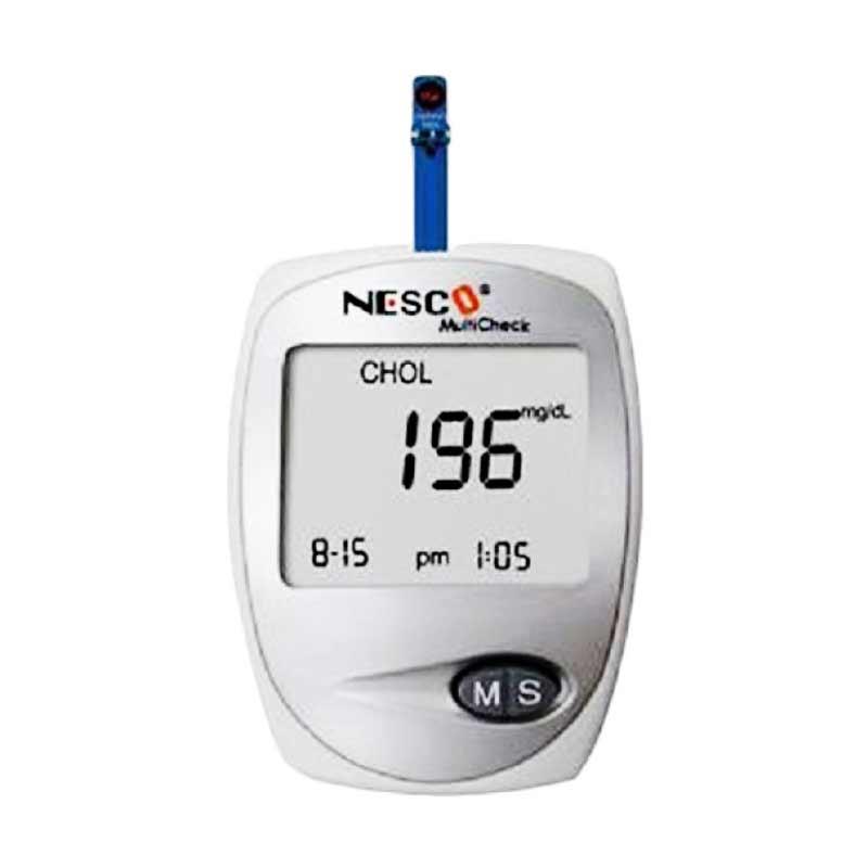harga Nesco Multicheck GCU 3 in 1 Alat Monitor Kesehatan -  Putih  ( 39001 ) Blibli.com