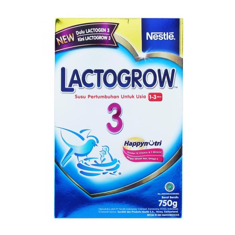 Lactogrow 3 Susu Fomula [750 gr]