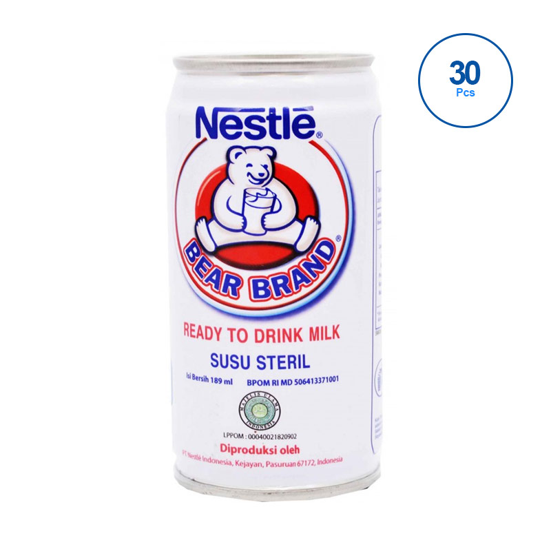 harga Groceries - Nestle Bear Brand Susu [30 pcs] Blibli.com