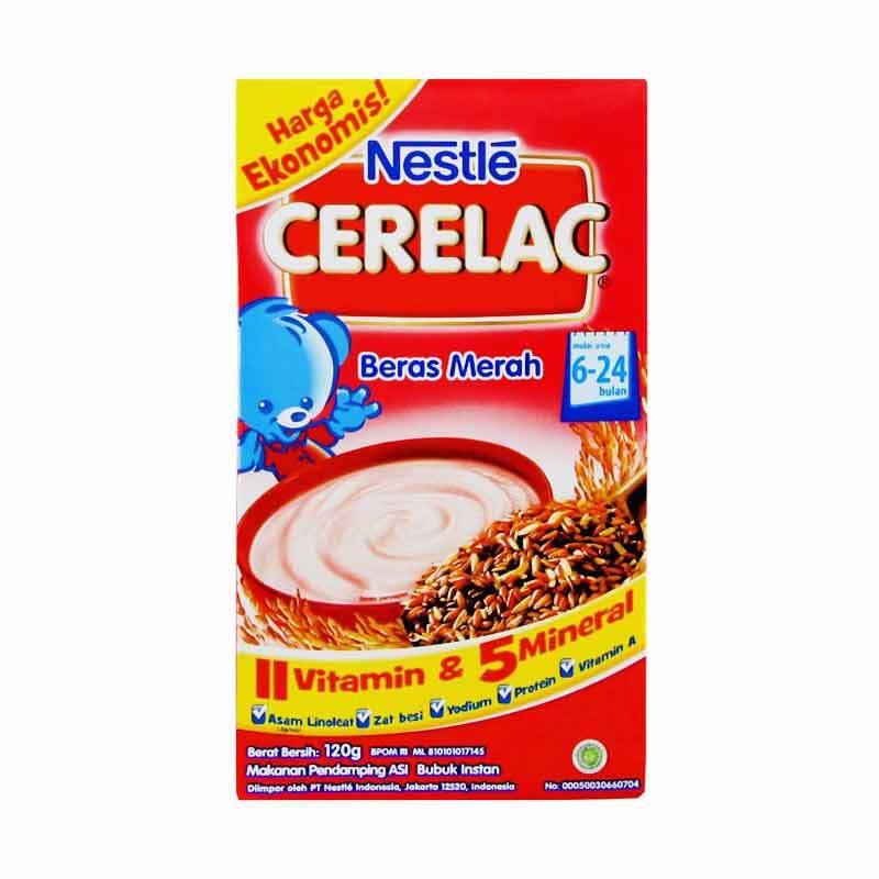 Nestle Cerelac Makanan Bayi Beras Merah [120gr]