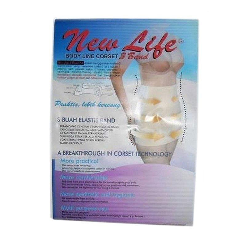 New Life Body Line Corset 3 Band Gurita Ibu [Size XL]