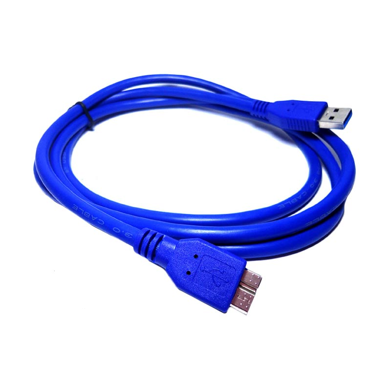 harga New-M Biru USB 3.0 Kabel for Hardisk Eksternal Blibli.com