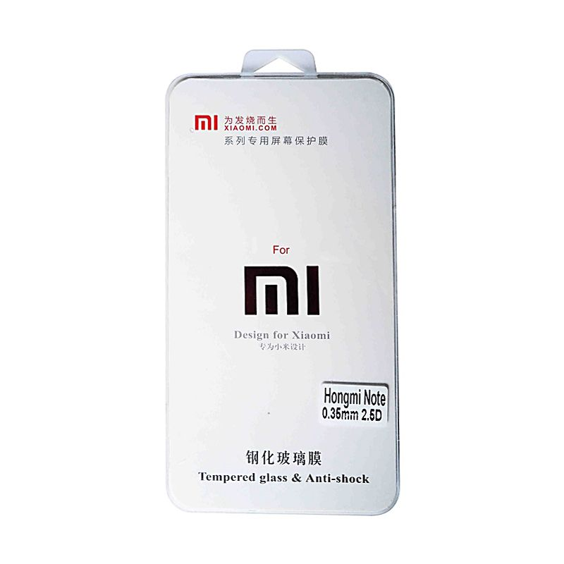 MI Tempered Glass Screen Protector for Xiaomi Hongmi Note 4G