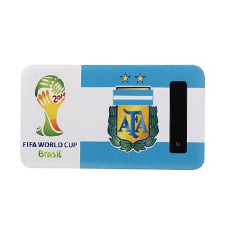 Newtech Slim FIFA World Cup Argentina Powerbank [6000 mAh]