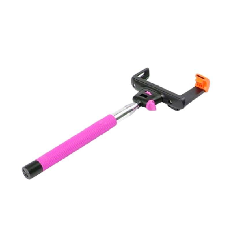 NewTech Tongsis Bluetooth Pink Monopod