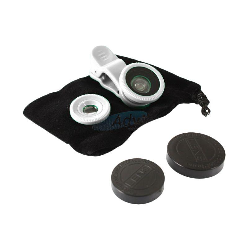 NewTech Universal White Lens Fish Eye Clip [2 in 1]