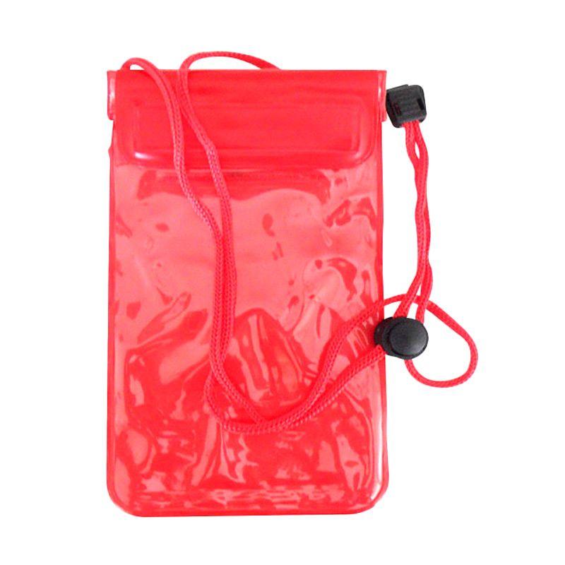 NEWTECH Universal Merah Waterproof Phone Case