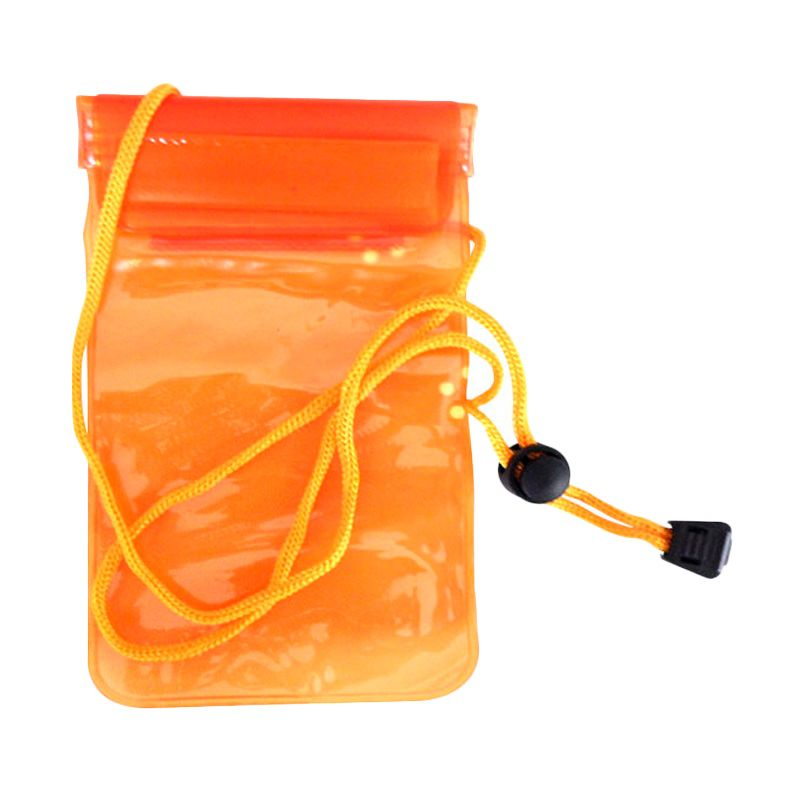 NEWTECH Universal Orange Waterproof Phone Case