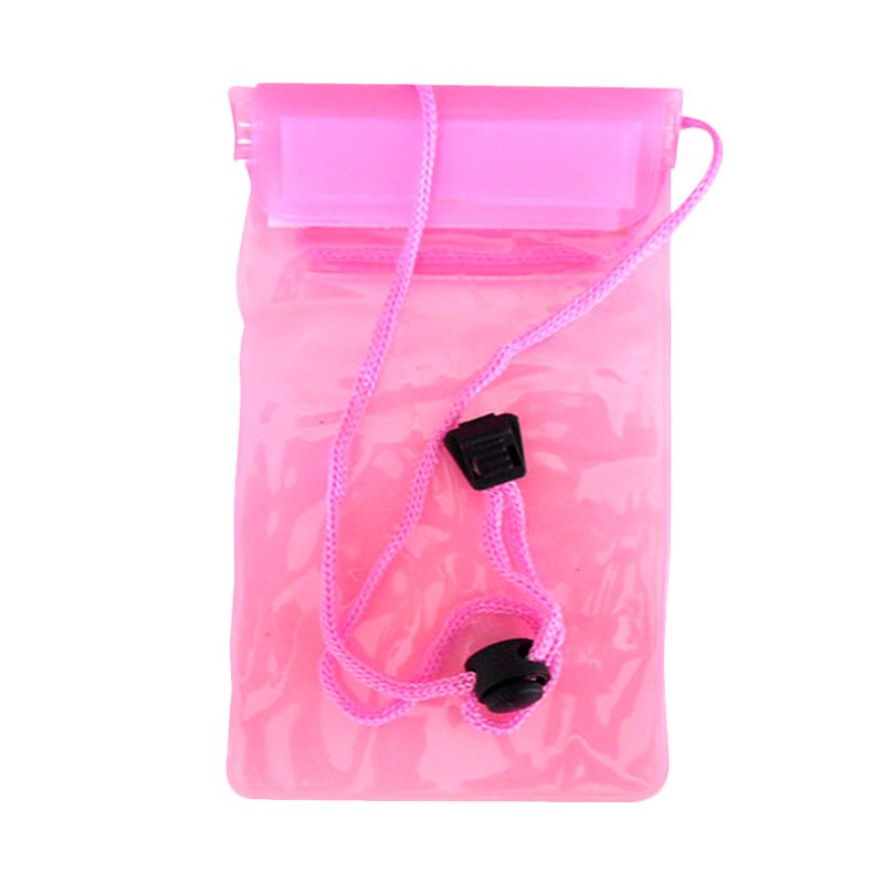 NEWTECH Universal Pink Waterproof Phone Case