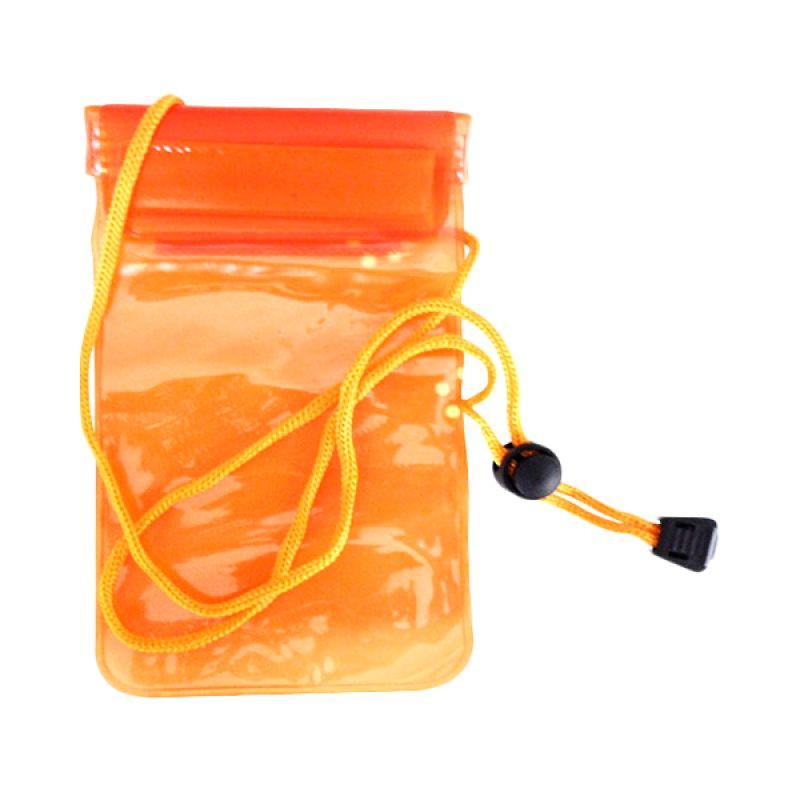 NewTech Universal Waterproof Orange Pouch for Smartphone