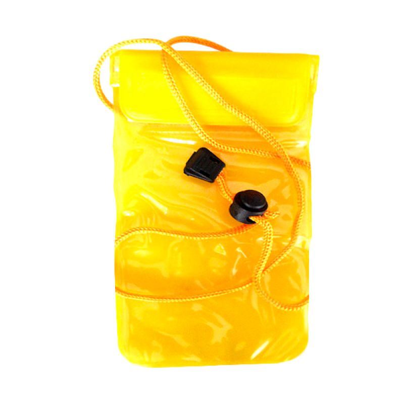 NewTech Universal Waterproof Yellow Pouch for Smartphone