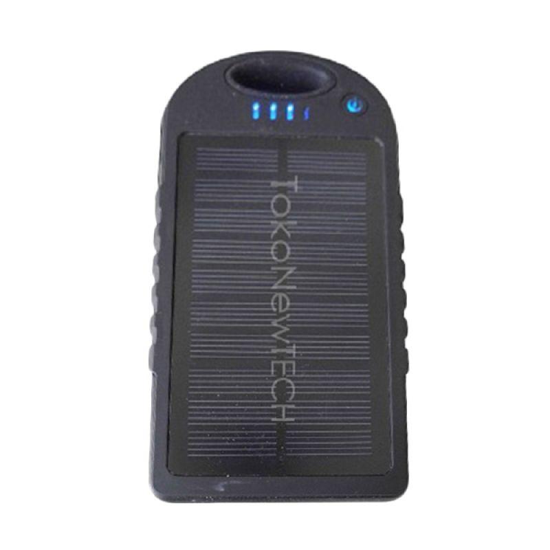 Solar Charger Power Black Powerbank [12000 mAh]