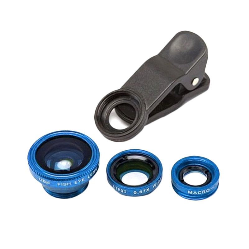 Universal 3 in 1 Blue Lens Fish Eye Clip