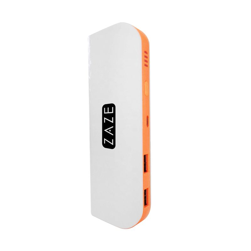 Zaze White Orange Powerbank [9000 mAh]