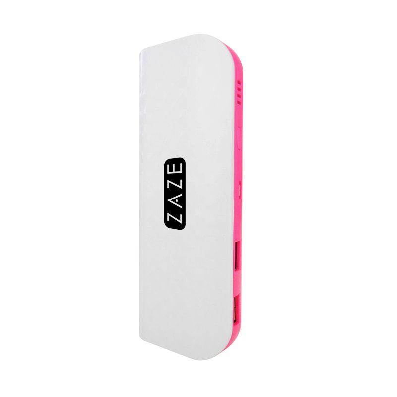 Zaze White Pink Powerbank [19000 mAh]