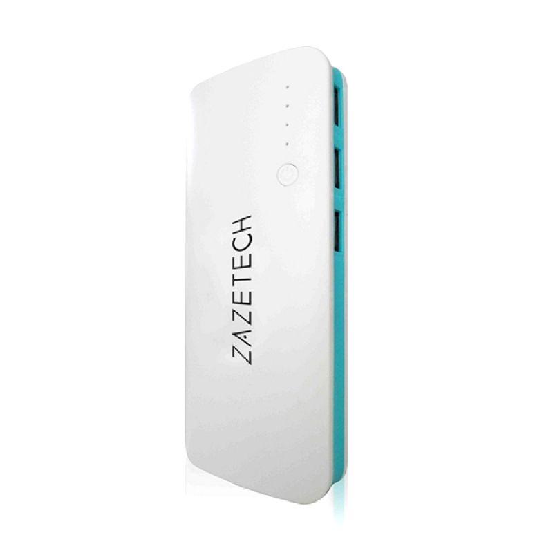 Zazetech White Blue Powerbank [39000 mAh]