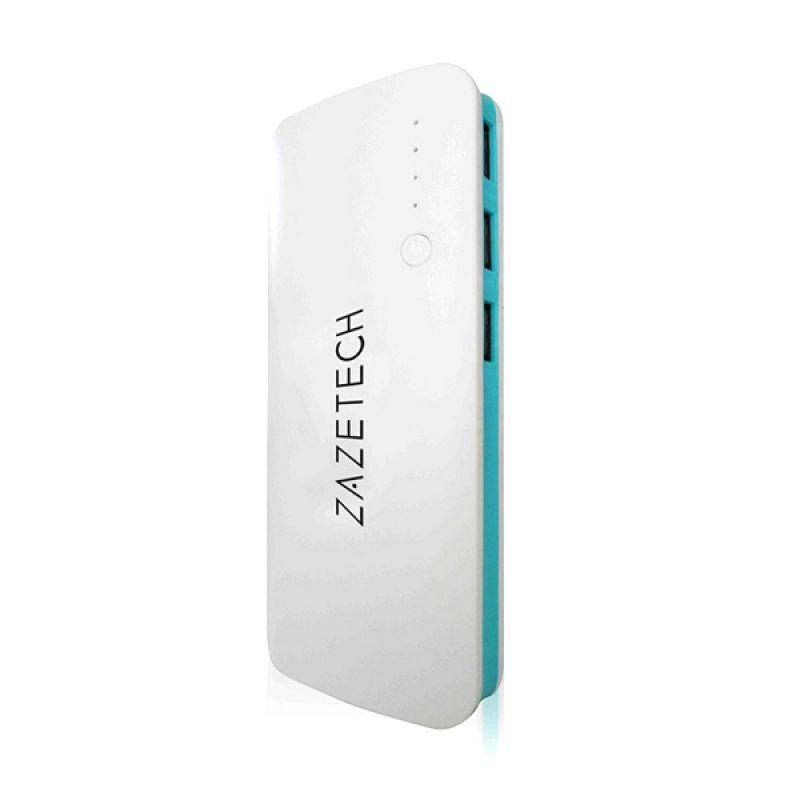 Zazetech White Blue Powerbank [59000 mAh]