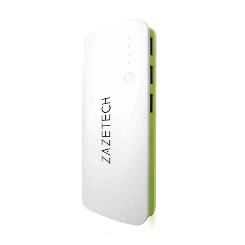 Zazetech White Green Powerbank [39000 mAh]