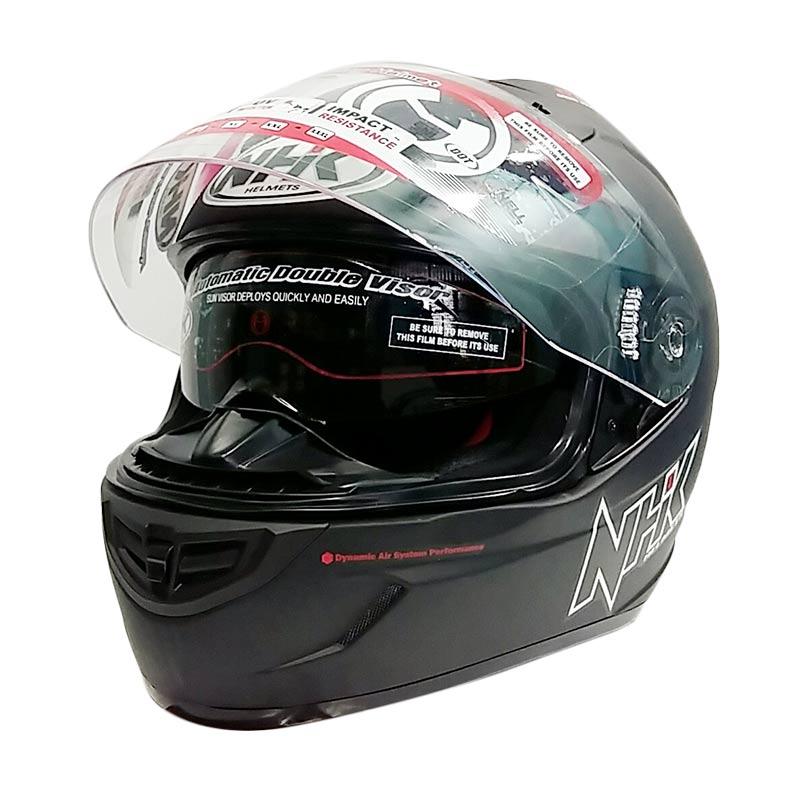 Jual NHK GP 1000 Black Doff Helm Full Face Online
