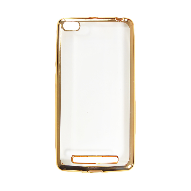Nice Crystal Clear Shining Casing for Xiaomi Redmi 3 - Gold