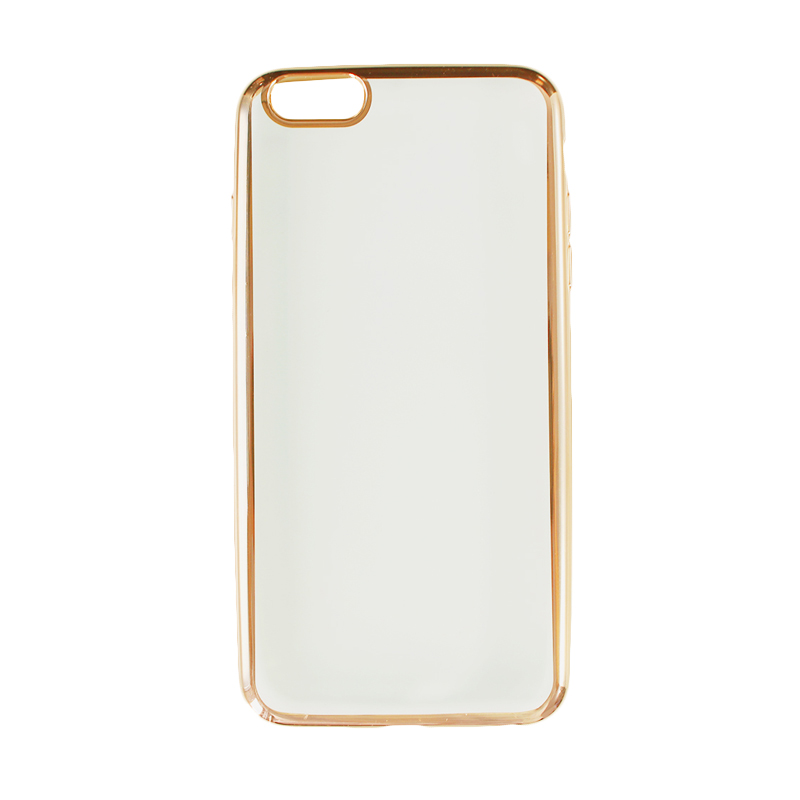 Nice Crystal Clear Shining Casing for iPhone 6 Plus - Gold