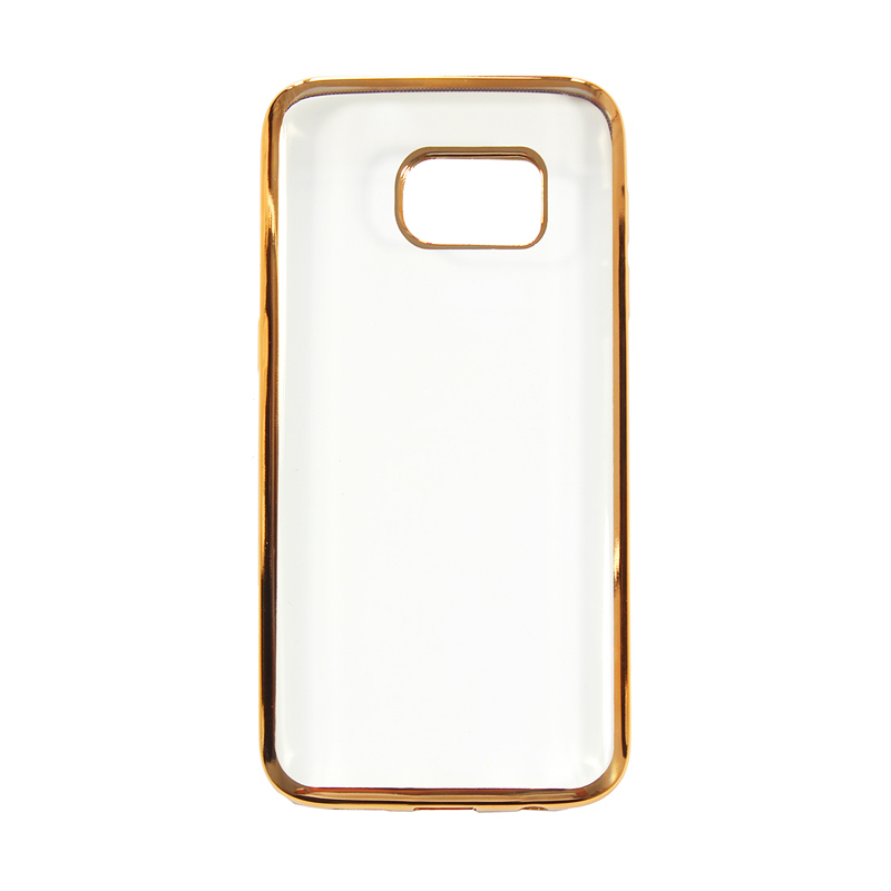 Nice Crystal Clear Shining Casing for Samsung Galaxy S7 - Gold