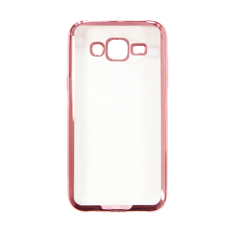 Nice Crystal Clear Shining Casing for Samsung J5 2015 - Rose Gold