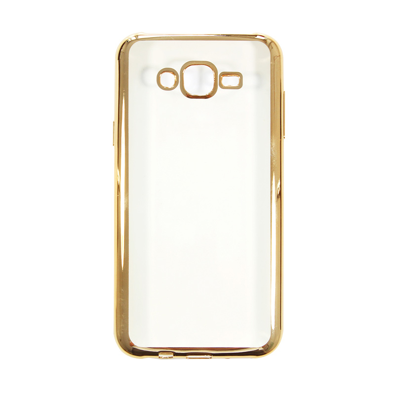 Nice Crystal Clear Shining Casing for Samsung J7 2016 or 2015 - Gold