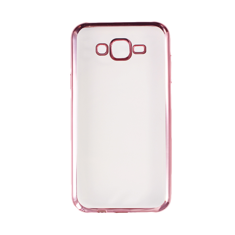 Nice Crystal Clear Shining Casing for Samsung J7 2016 or 2015 - Rose Gold