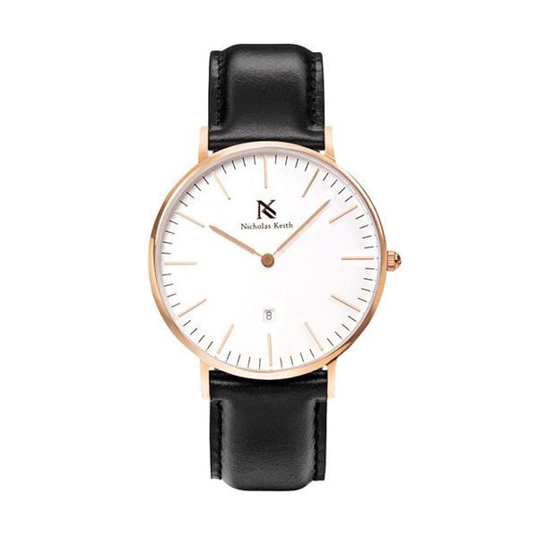 Nicholas Keith Madison 36MM Date NK8010 Jam Tangan Unisex