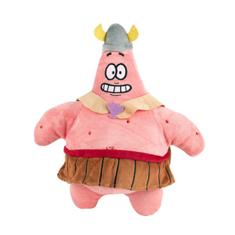 Nickelodeon Spongebob Plush Patrick Star Cotton Boneka [Small]