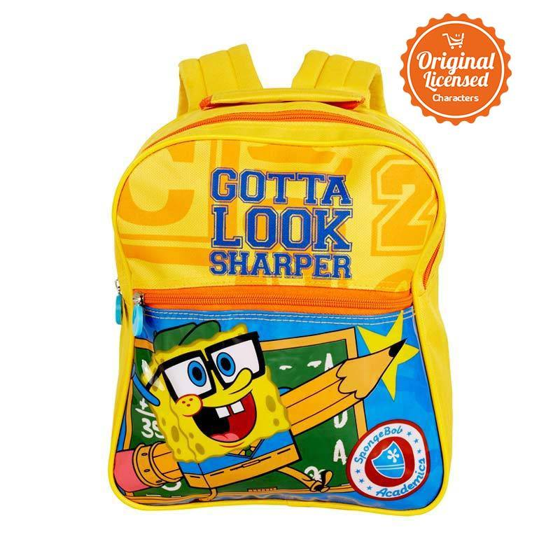 Nickelodeon Spongebob Gotta Backpack Small Yellow Tas Sekolah
