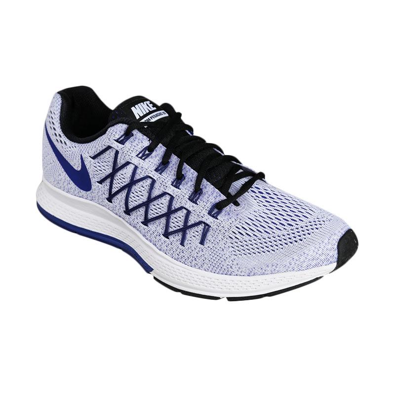 Nike Mens Lunar Ballistec 1.5 Tennis Shoes - WhiteBlue Limited Edition ..  nike zoom pegasus 32 harga ... f4b1691743