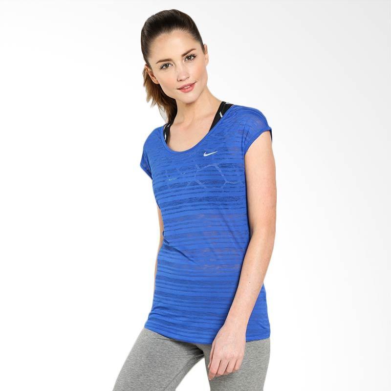 Nike AS DF Cool Breeze SS Top 644711-480 Kaos Olahraga Wanita