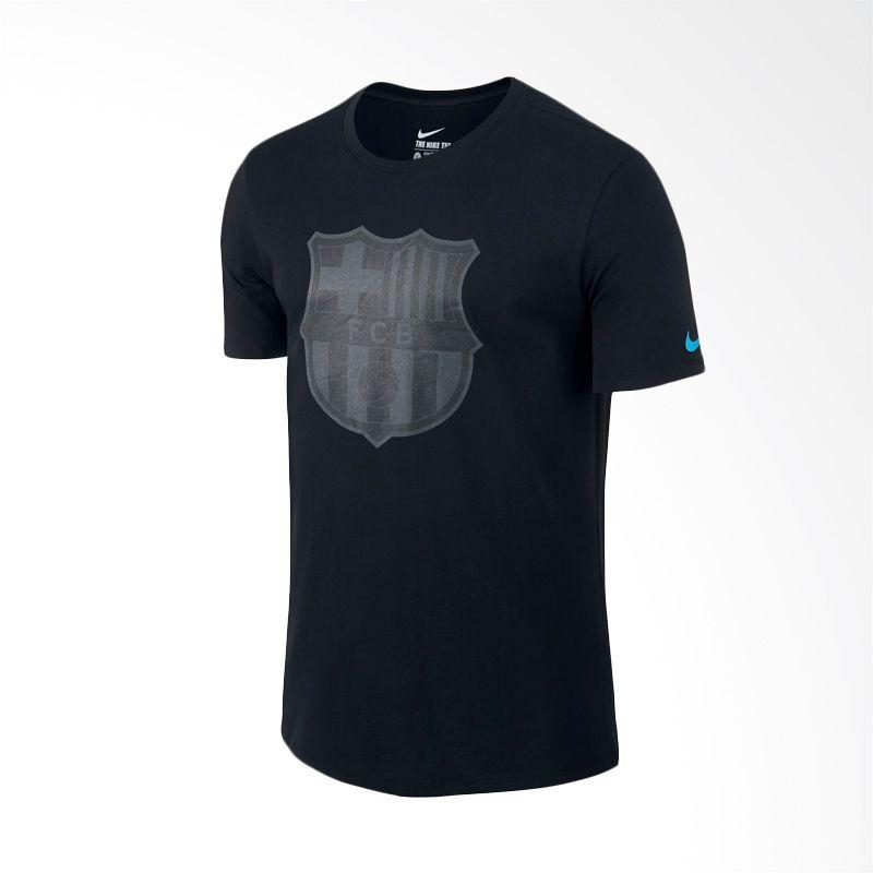 Nike AS FCB 689655-010 Crest Tee Kaos Olahraga