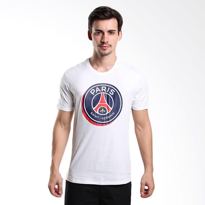 Nike AS PSG Crest Tee 689667-100 Kaos Olahraga