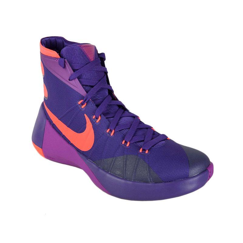Jual Nike Hyperdunk 2015 749561 565 Ungu Sepatu Basket