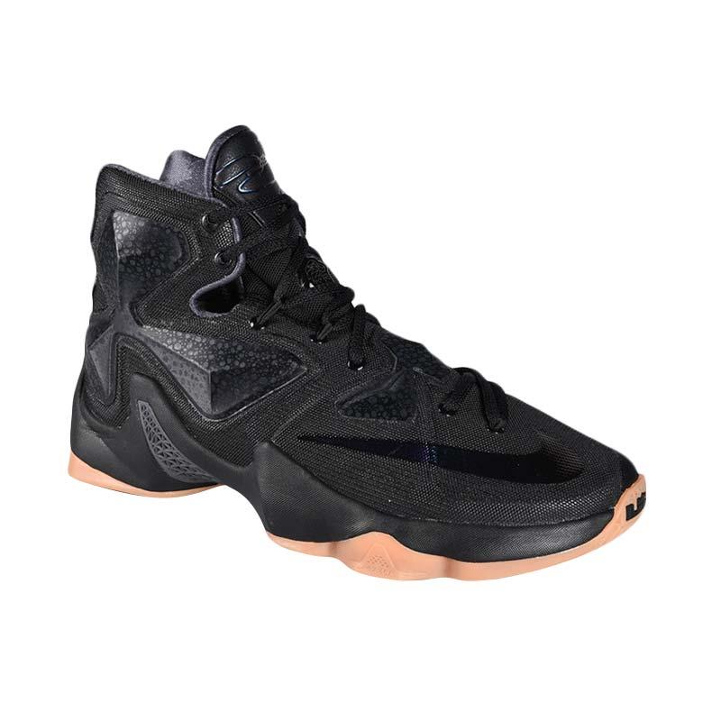 Jual nike lebron xiii 807219 001 hitam sepatu basket cek harga di ... 7d0c6cae64