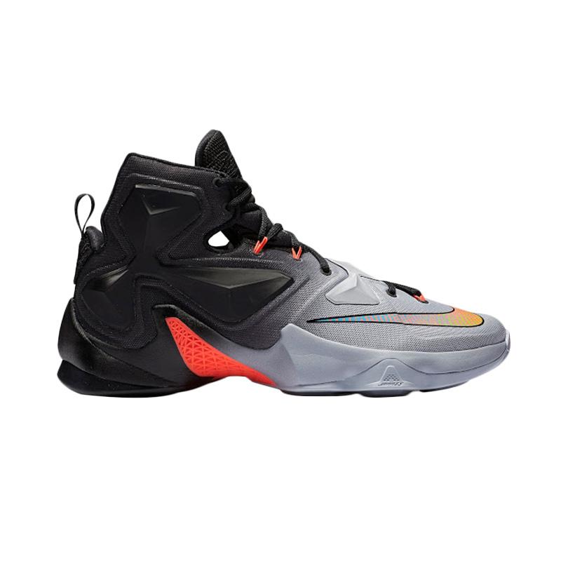 Jual One Nike Lebron XIII 807219 060 Black Sepatu Basket