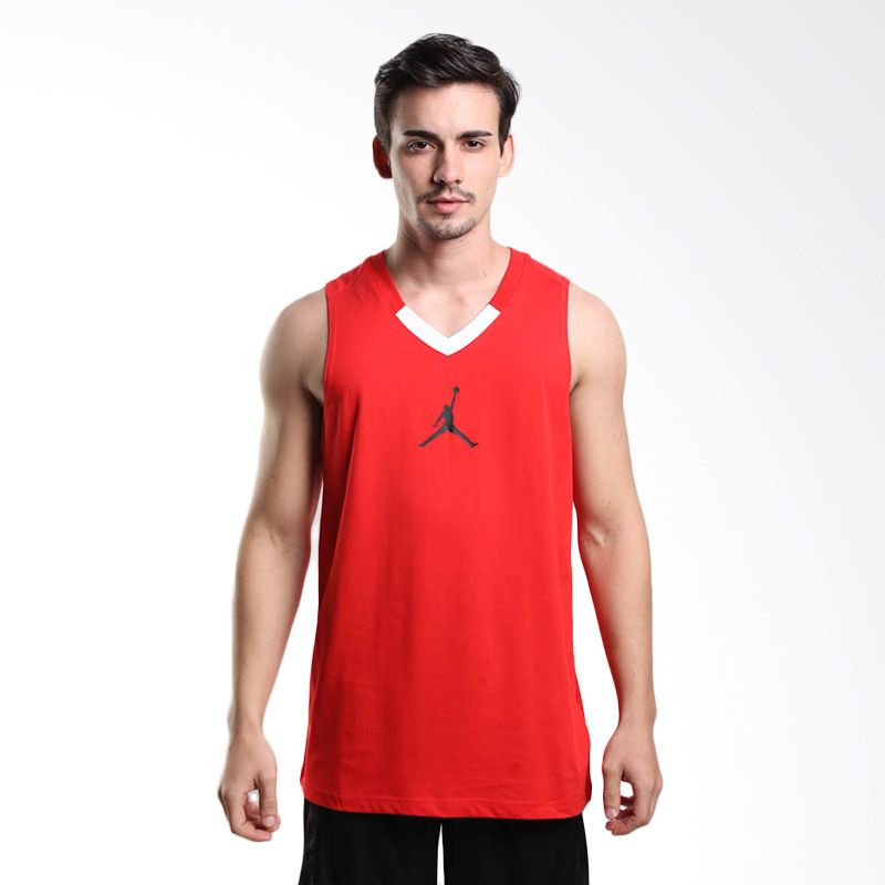 Nike Rise 4 658651-657 Red Jersey Basket