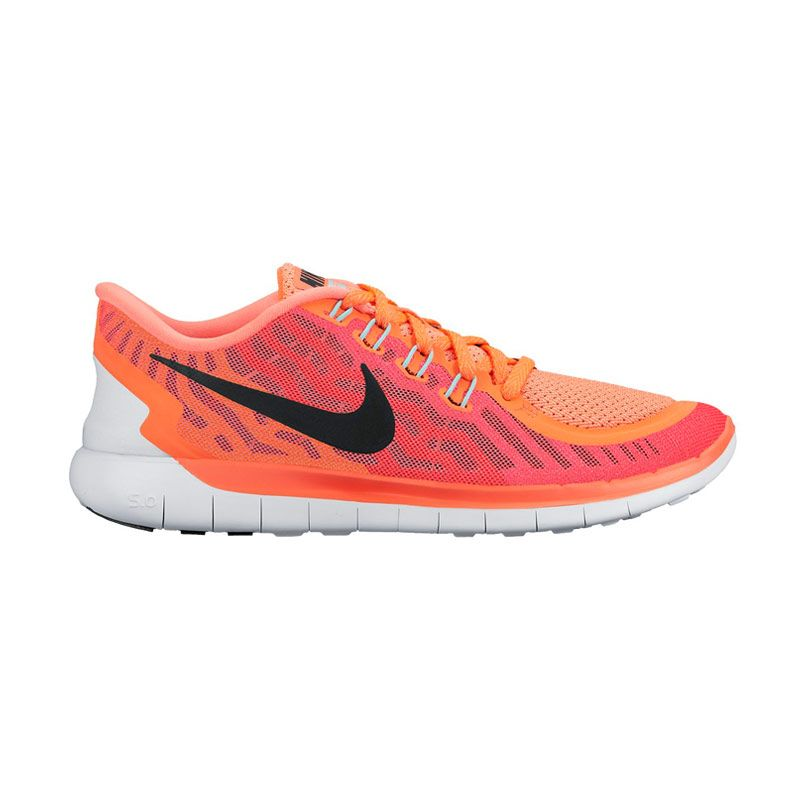 Nike Wmns Free 5.0 724383-800 Heat Love Sepatu Lari Wanita