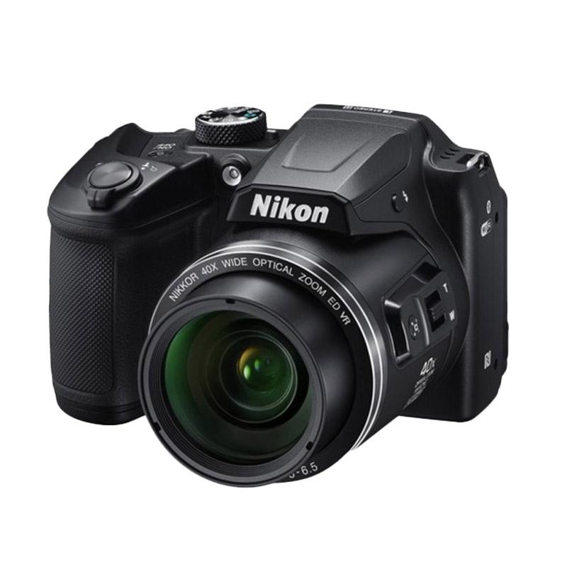 Nikon Coolpix B500 Kamera Pocket - HItam | CP-B500 + Screenguard Terpasang