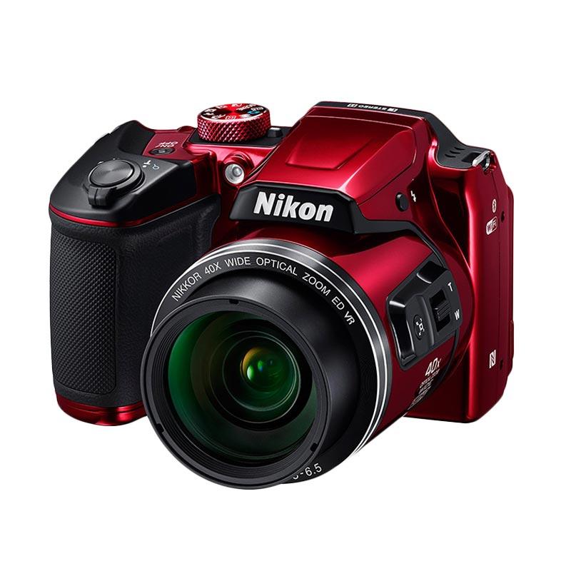 Nikon Coolpix B500 Kamera Prosumer - Merah ( FREE Charger )