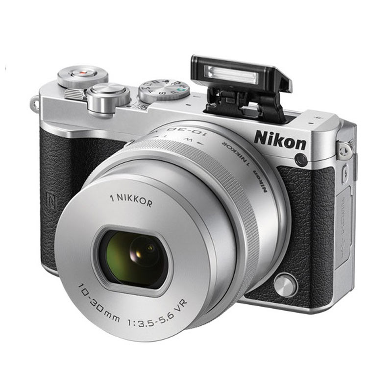 Nikon 1 J5 kit 10-30mm Kamera Mirrorless [23 MP] - Silver