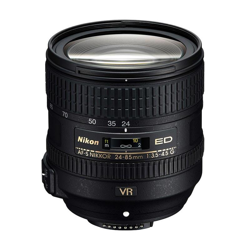 Nikon AF-S 24-85mm VR Zoom f/3.5-4.5G ED VR Lensa Kamera