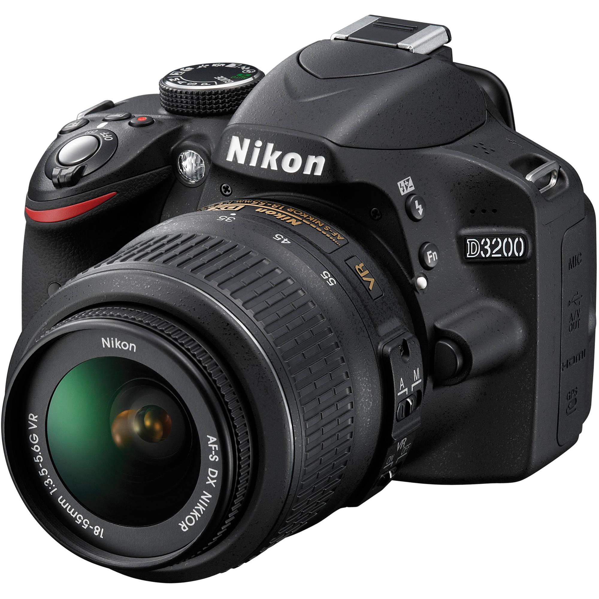 Nikon D3200 18-55 VR...amera DSLR